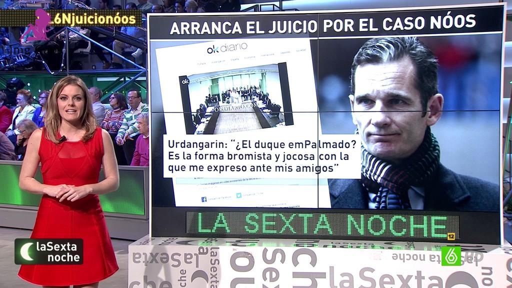 ANDREA ROPERO, LA SEXTA NOCHE (09.01.16)
