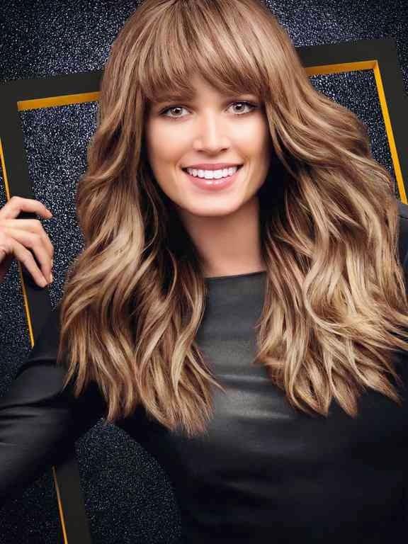 bronde tendencia coloración pelo
