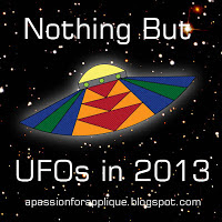 Nothing But UFOs in 2013 button