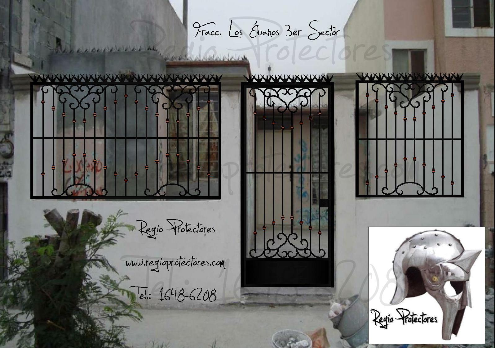 Top puertas forja frontal wallpapers - Rejas de hierro forjado ...