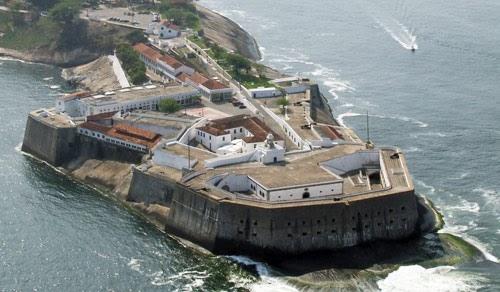 La Fortaleza de Santa Cruz en Niterói, Brasil