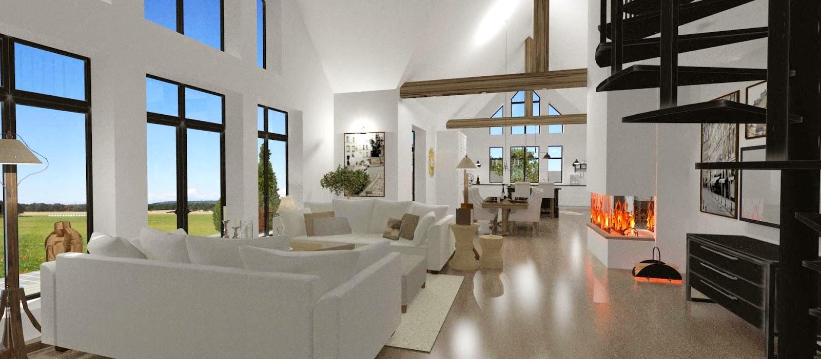 Dreams & Coffees arkitekt- och projektblogg: Öppet och ljust ...