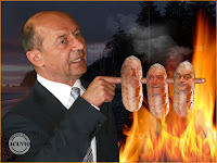 Funny photo Traian Basescu Picnic