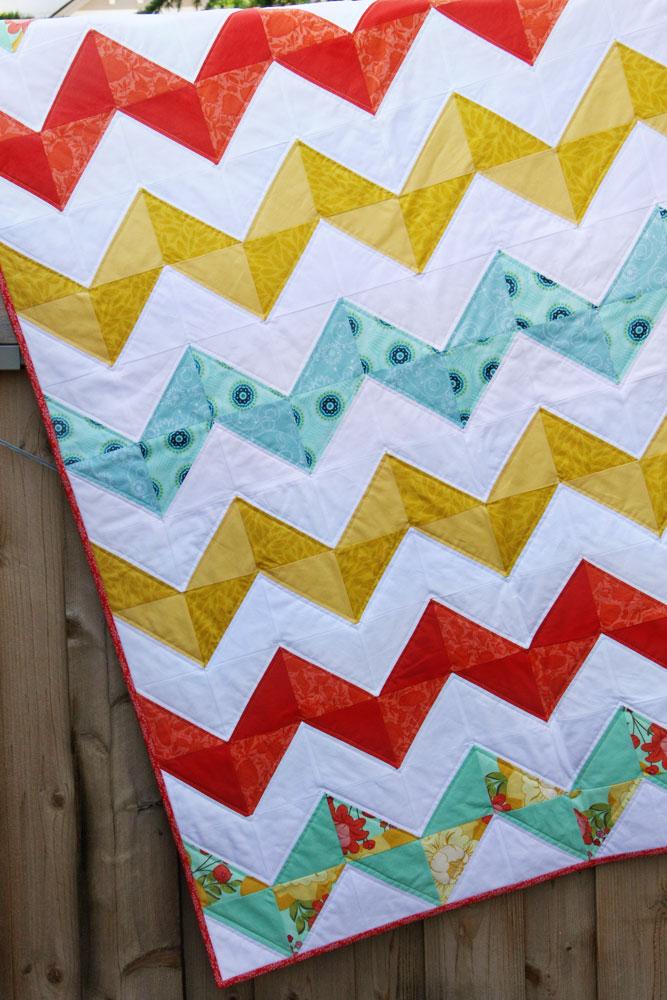 Quilting Blocks Half Square Triangle Tutorial