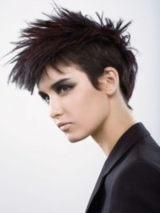 teenage-boy-funky-hair-stylesSome might consider this style a little