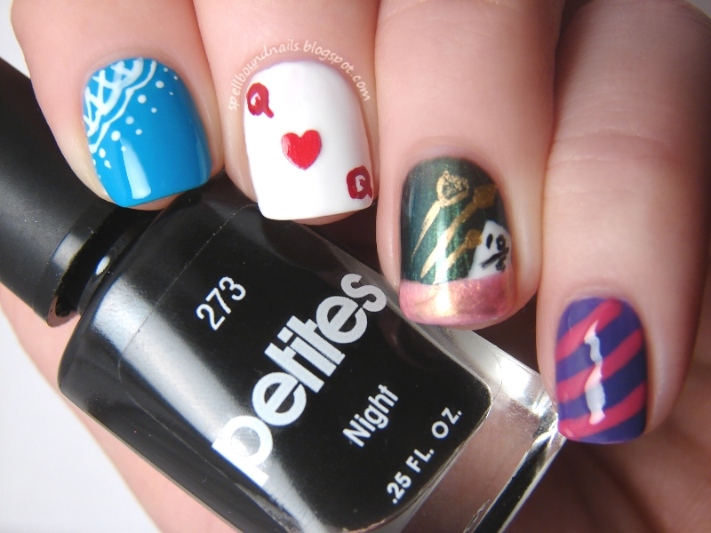 Mad Hatter Nail Designs