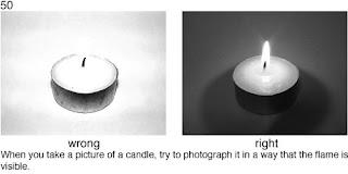 Совет 50. Если вы снимаете такой яркий объект как пламя, необходимо уменьшать выдержку так, что бы в кадре было не только пламя.