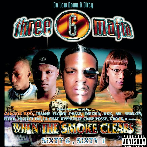 Three 6 Mafia - When the Smoke Clears Cover