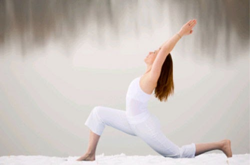 Yoga can help one to attain a glowing skin