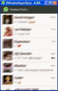 Whatsapp spy conversaciones