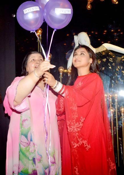 Rani Mukherji first outing after marriage