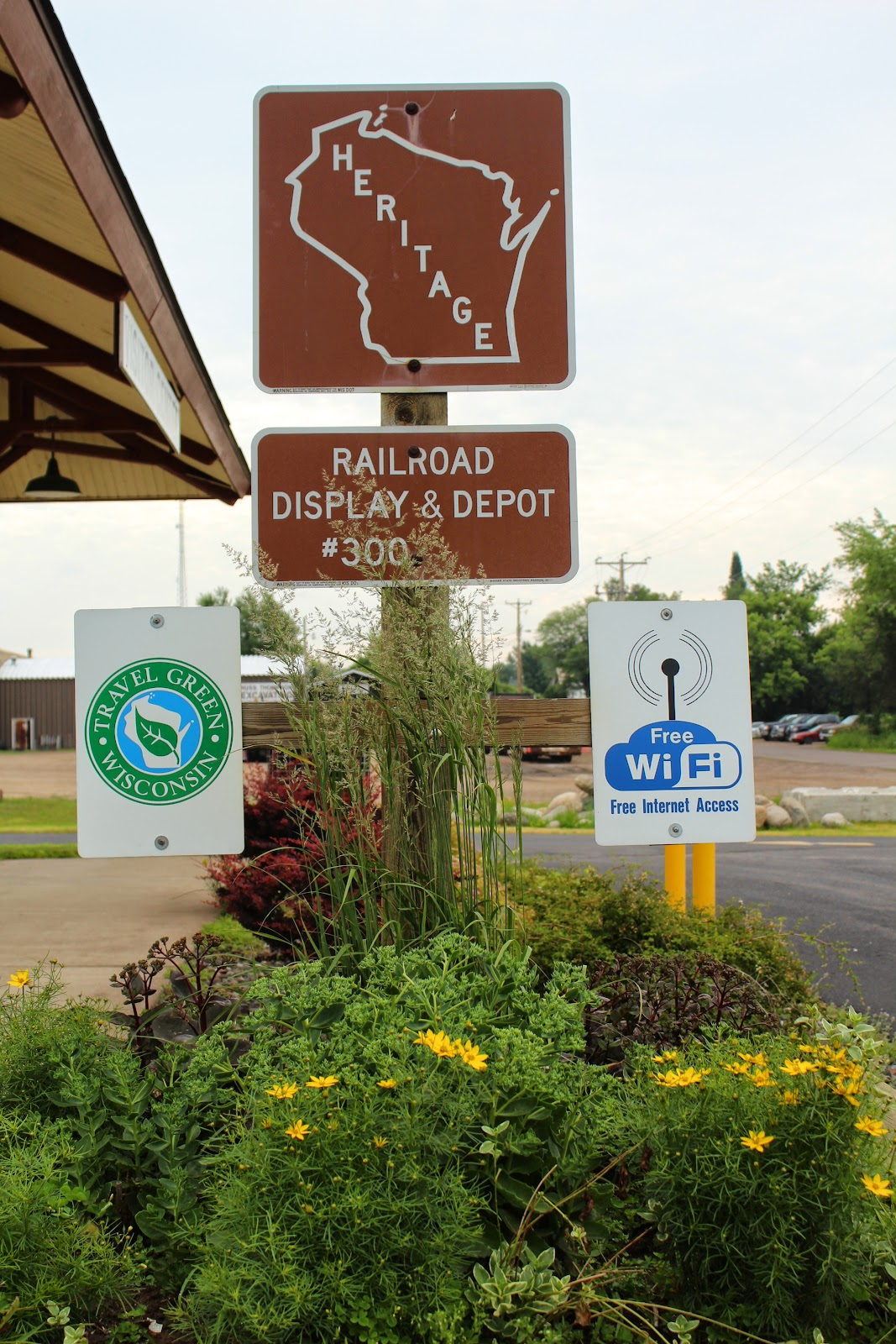 Wisconsin Historical Markers Heritage 300 Railroad