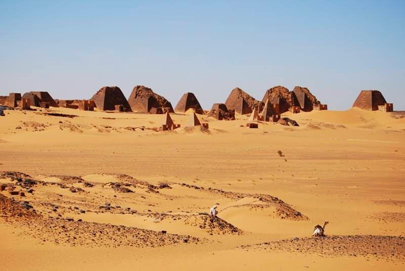Nubian Pyramids Sudan 800x353