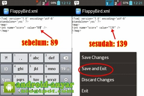 Cheat Flappy Bird Android
