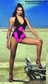 Deepika Padukone Sexy & Hot Bikini Shoot Pics!