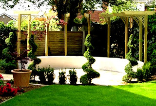 Modern Homes Beautiful Garden Ideas