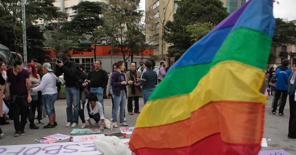 O tema deste ano da Caminhada de Lésbicas e Bissexuais é 'Discutindo e Celebrando as Relações entre as Mulheres' (Foto: Fernando Donasci)