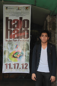 Ivan at the 2nd Halo-Halo Indie Film Festival