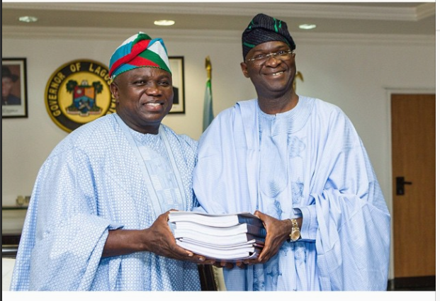 Akin Ambode and Fashola