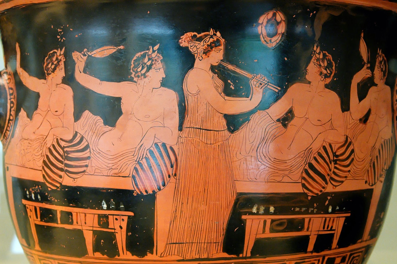 Greek Vase - Symposium