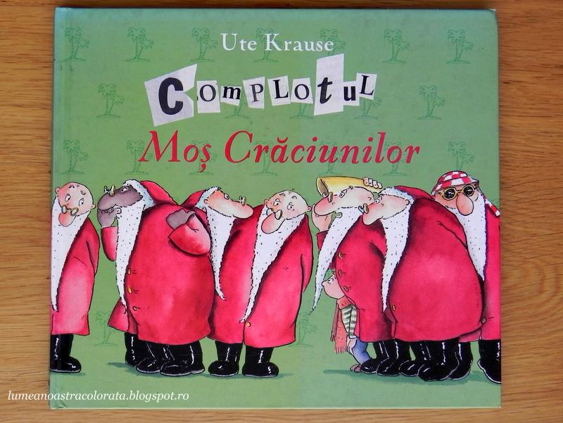 Complotul Moș Crăciunilor editura RAO
