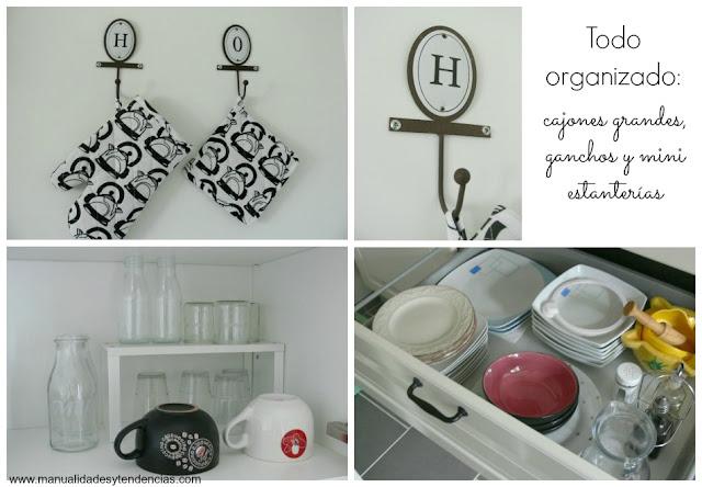 Organización de la cocina