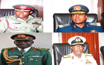 Mixed Reactions as President Names New Service Chiefs, NSA