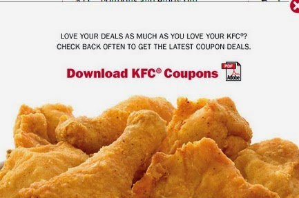 Kentucky fried chicken coupons canada