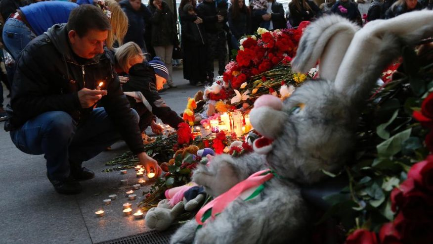 Bodies of plane crash victims delivered to Russia ...