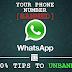 Mengatasi Nomor  Whatsapp yang ke Banned, Solve 100% Unbanned