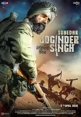 Poster Of Punjabi Movie Subedar Joginder Singh 2018 Full HD Movie Free Download Watch Online
