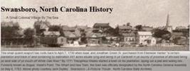 Swansboro History
