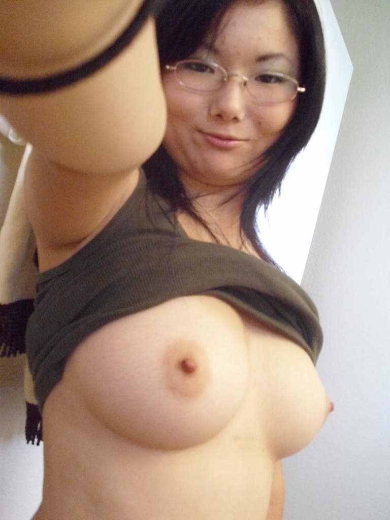 busty topless asian