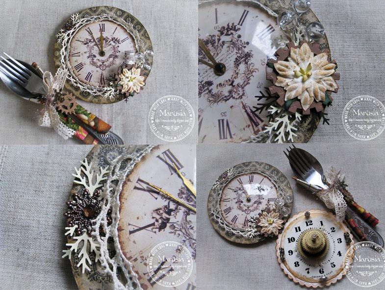 Декорирование часов своими руками 75