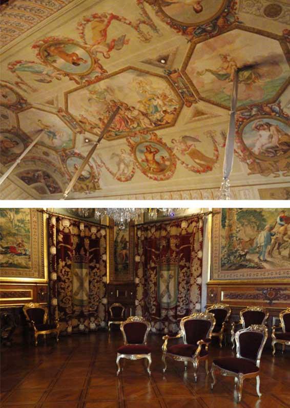 Viajar s pal cio nacional da ajuda for Sala de estar palacio