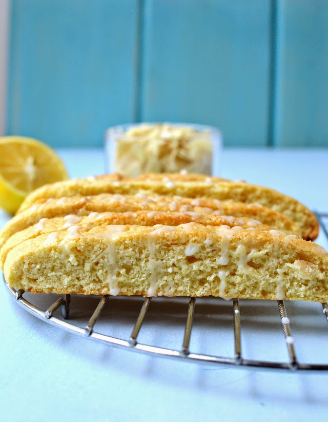 Lemon Almond Biscotti