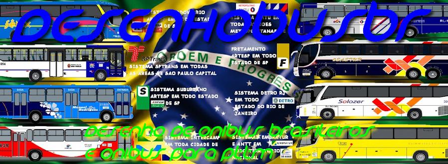 DESENHOS DE ONIBUS BRASILEIROS E ONIBUS GTA/PTTM