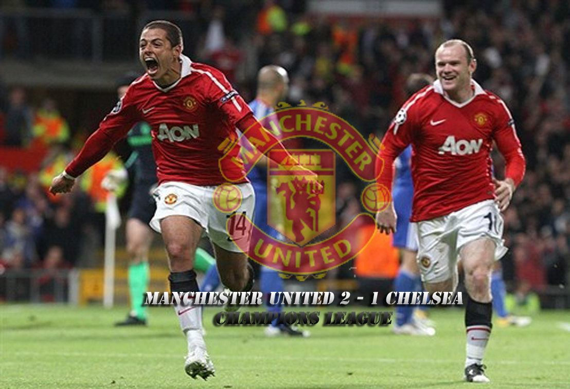 Chicharito Celebrates Goal Wallpaper | Manchester United 2 ...