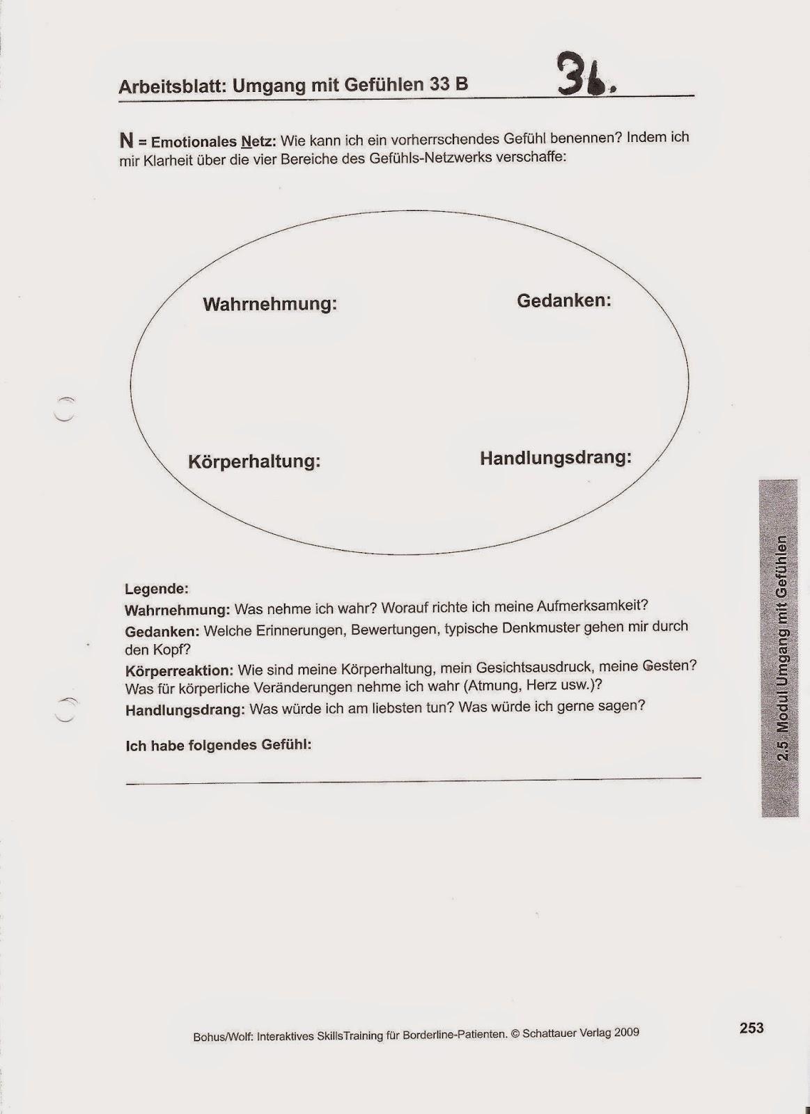 Emetophobie;Depression;K.PTBS=ICH: Hausaufgaben