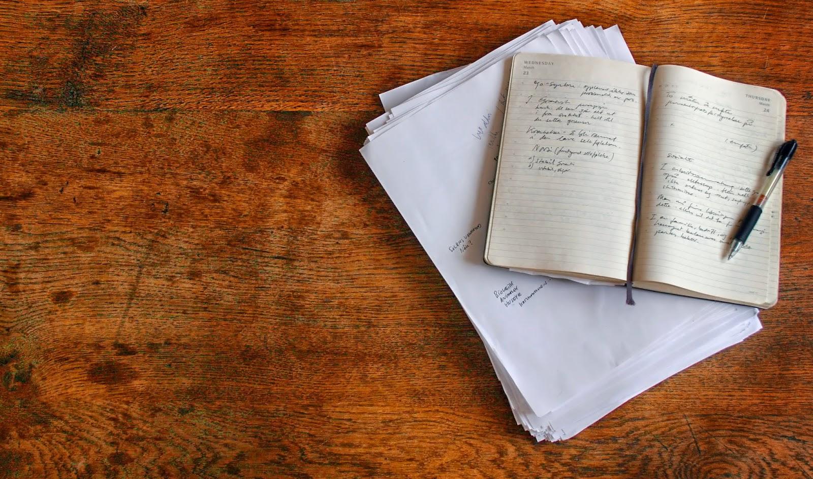 sang pena, kenapa menulis