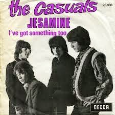 The Casuals - Jesamine - guitar chords - #2 in UK on DECCA Records in 1968
