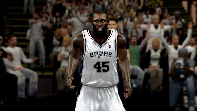NBA 2K13 DeJuan Blair Cyberface Mod