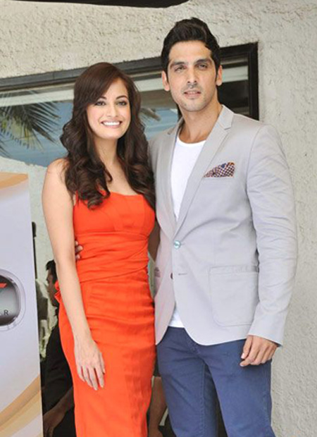 Diya Mirza, Zayed Khan at Love Breakups Zindagi Launch
