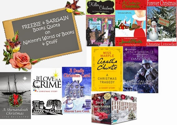 Free and BARGAIN books quota ~ Christmas Special