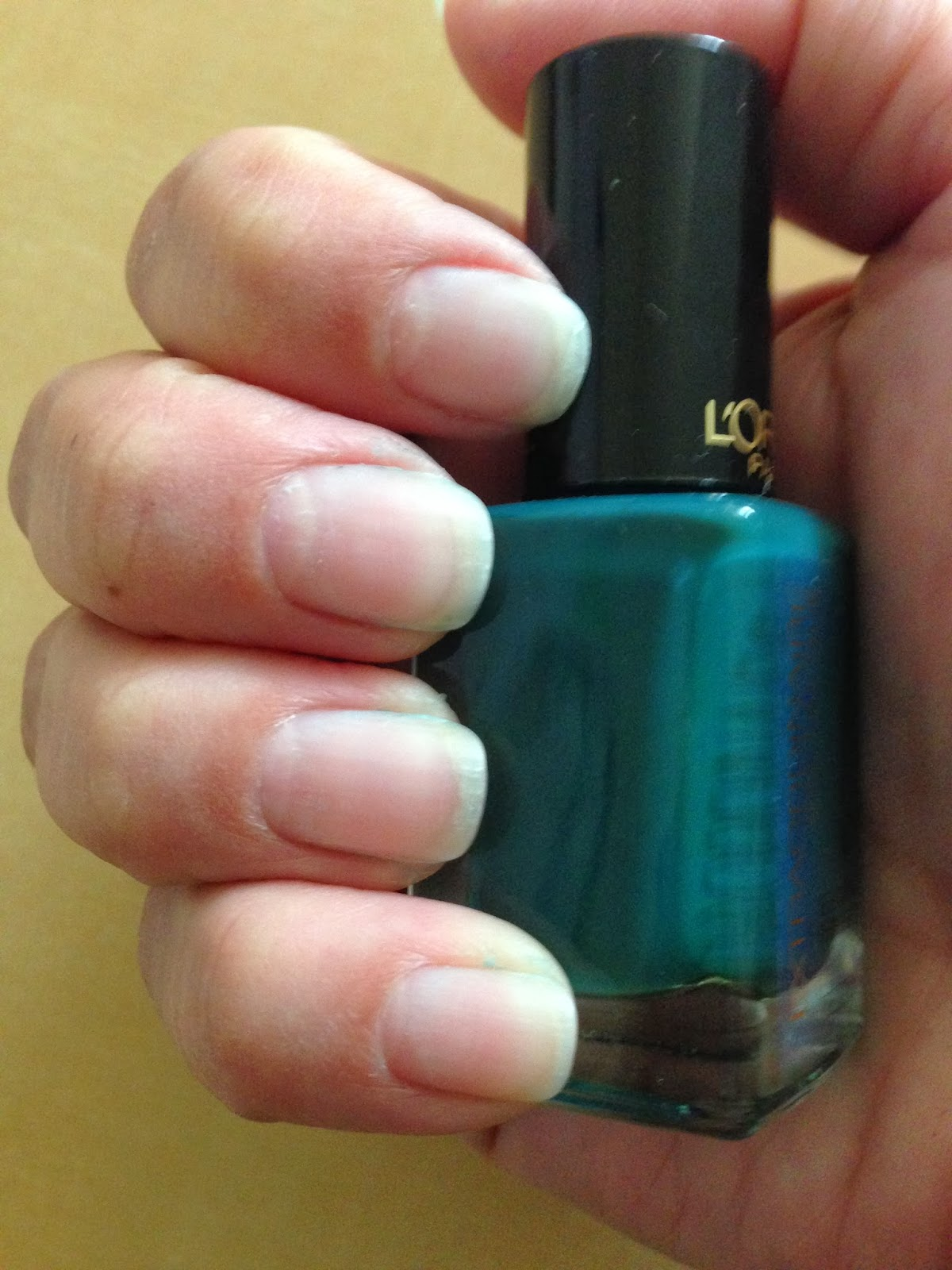 after using polish, easy to remove, loreal gel nail polish, results after 10 days