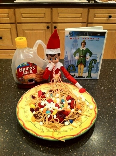 "Creative (And Easy) Ways Your ""Elf on the Shelf"" Can Get Into Mischief"