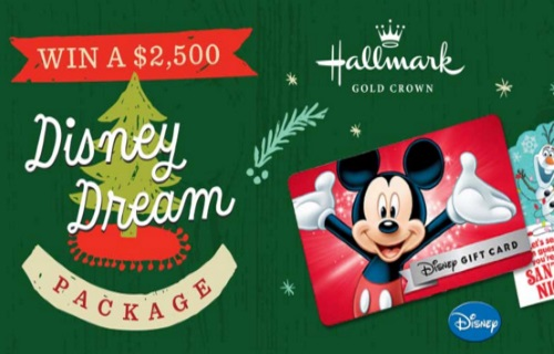 Hallmark Disney Dream Package Giveaway