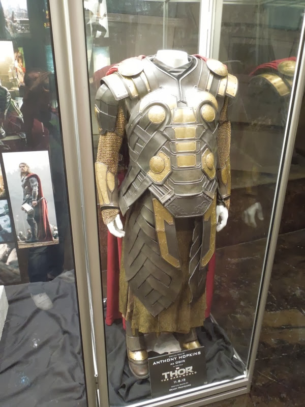 Odin armour Thor The Dark World