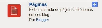 """Pages Gadget """"Páginas"""""""