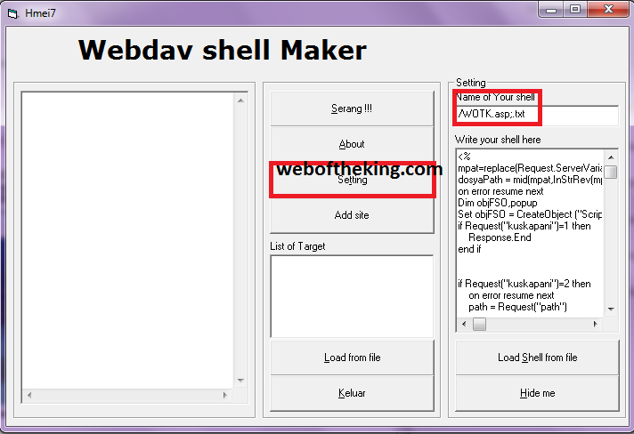 Cara Deface Website Dengan WebDav & Mencari Targetnya